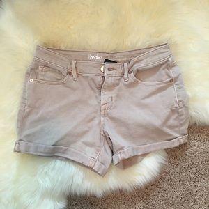 Mossimo blush color shorts